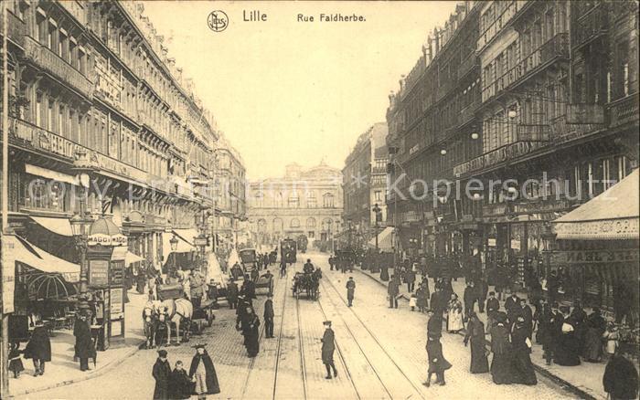 Lille Nord Rue Faidherbe Kat. Lille
