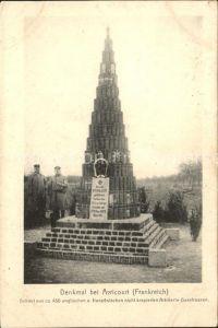 Avricourt Sarrebourg Denkmal / Avricourt /Arrond. de Sarrebourg