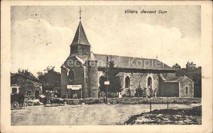 Villers devant Dun Eglise Kirche Kat. Villers devant Dun