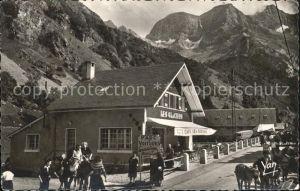 Gavarnie Hautes Pyrenees Cafe Les Glaciers Montagnes Kat. Gavarnie