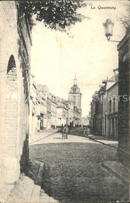 Le Quesnoy Nord Une Rue Kat. Le Quesnoy