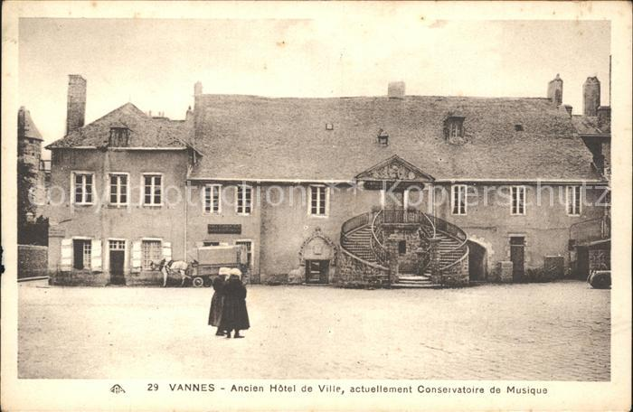 Vannes Ancien Hotel de Ville actuellement Conservatoire de Musique Kat. Vannes