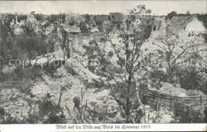 La Ville aux Bois Ansicht im Sommer 1915 1. Weltkrieg Grande Guerre Kat. La Ville aux Bois