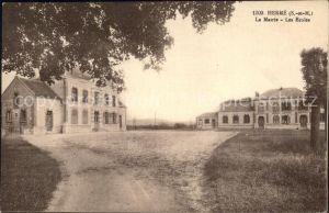 Herme La Mairie et les Ecoles Kat. Herme