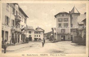 Megeve Place de la Mairie Kat. Megeve