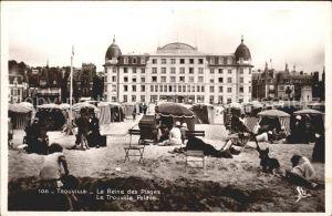 Trouville sur Mer La Reine des Plages Hotel Trouville Palace Kat. Trouville sur Mer