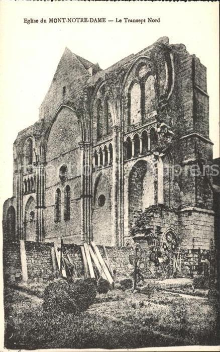 Mont Notre Dame Eglise Transept Nord Monument historique Kat. Mont Notre Dame