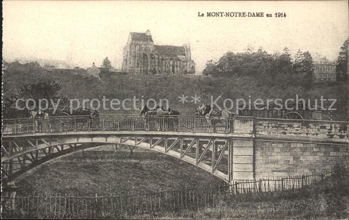Mont Notre Dame Pont Eglise Kat. Mont Notre Dame
