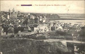 Granville Manche Vue generale prise du Moulin a vent Kat. Granville