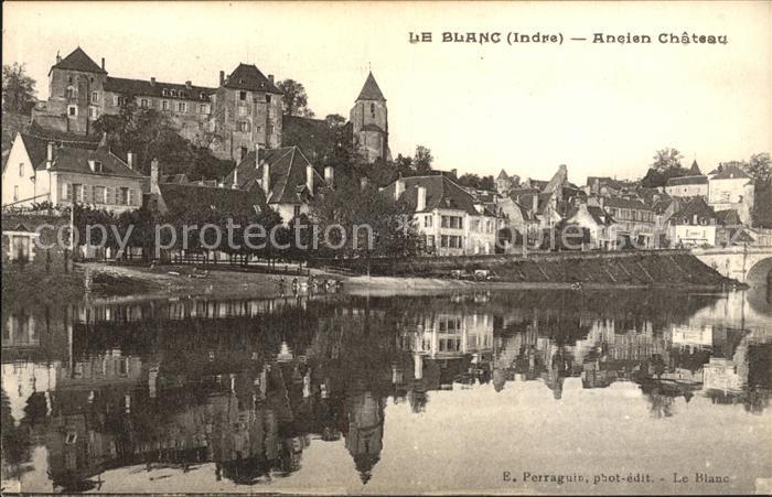 Le Blanc Ancien Chateau Schloss Kat. Le Blanc