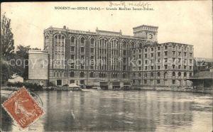 Nogent sur Seine Grands Moulins Sassot Freres Kat. Nogent sur Seine