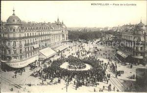 Montpellier Herault Place de la Comedie Kat. Montpellier