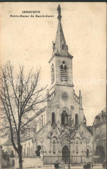 Issoudun Indre Notre Dame du Sacre Coeur Kat. Issoudun