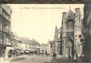 Dieppe Seine Maritime Place St Jacques et Rue de la Boucherie Kat. Dieppe