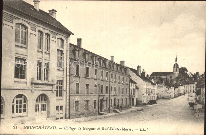 Ak st marcellin cafe du boulevard coll ge de garcons for Rue des garcons