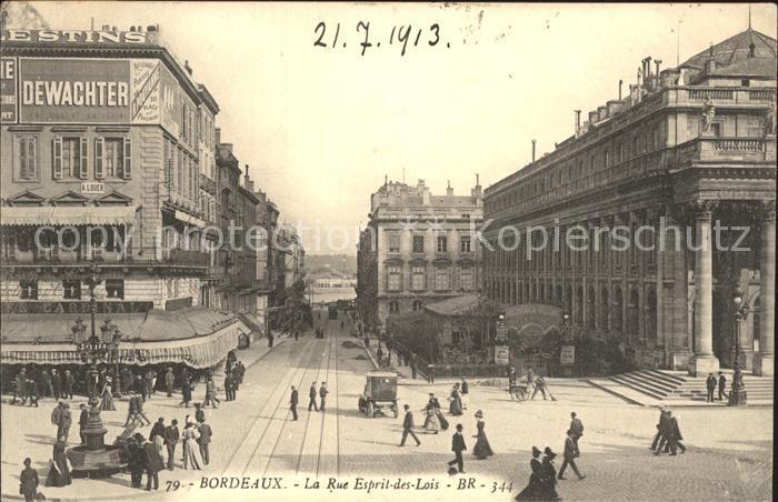 Bordeaux Rue Esprit des Lois Kat. Bordeaux
