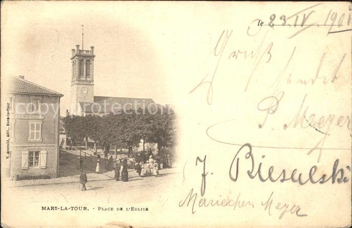 Mars la Tour Place de l Eglise Kat. Mars la Tour