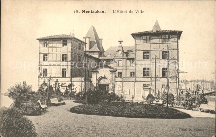 Montauban Hotel de Ville Kat. Montauban