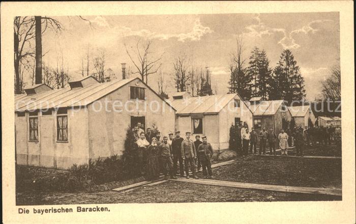 Montigny en Ostrevent Bayerische Baracken 1. Weltkrieg Grande Guerre Kat. Montigny en Ostrevent