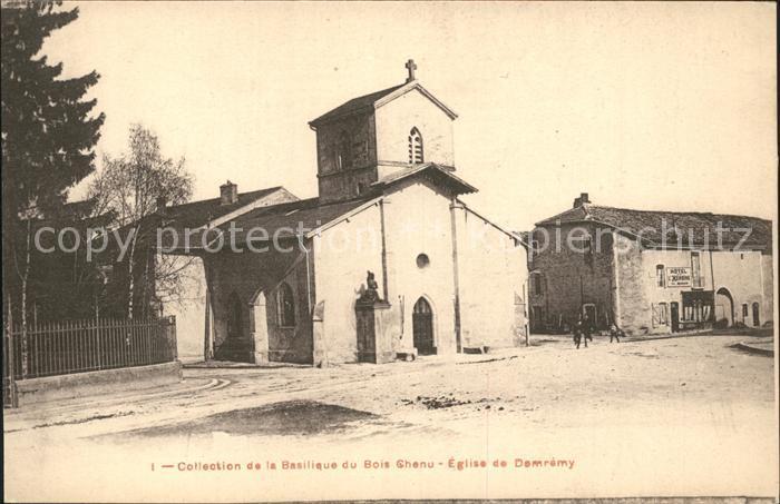Domremy la Pucelle Vosges Collection de la Basilique du Bois Chenu Kat. Domremy la Pucelle