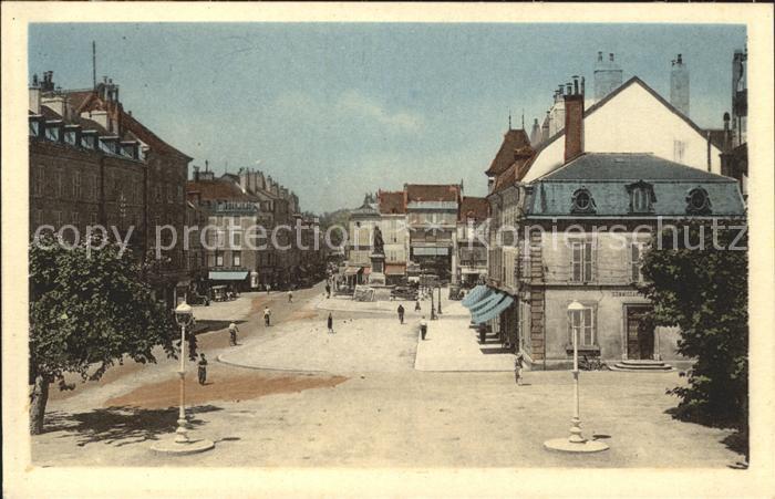 ak verins le monument et la place nr 6372118 oldthing ansichtskarten europa belgien. Black Bedroom Furniture Sets. Home Design Ideas