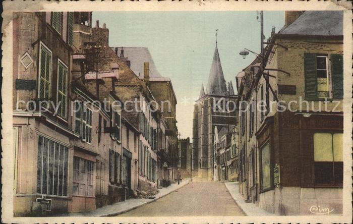 Vervins Rue de la Liberte Kat. Vervins
