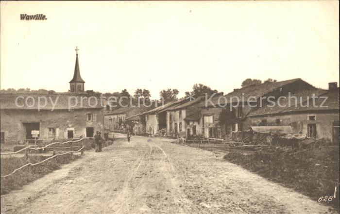 Wavrille Entree du village Ortseingang Kat. Wavrille