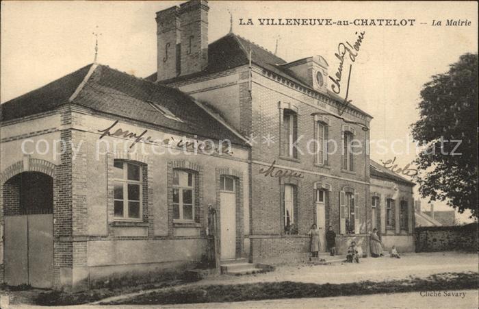 La Villeneuve au Chatelot La Mairie Kat. La Villeneuve au Chatelot