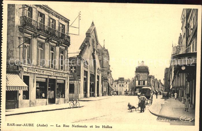 Bar sur Aube Rue Nationale et les Halles Kat. Bar sur Aube