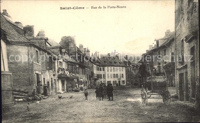 Saint Come Rue de la Porte Neuve Kat. Saint Come
