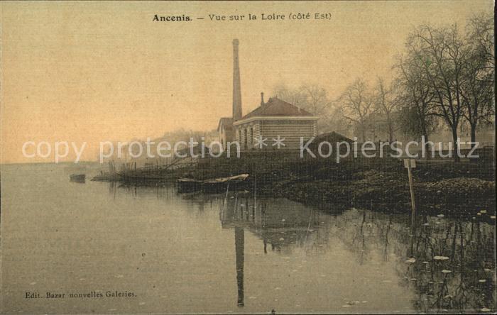 Ancenis Vue sur la Loire Kat. Ancenis