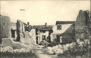 Beine Nauroy Marne Westlicher Kriegsschauplatz 1. Weltkrieg Grande Guerre Nr. 826 Kat. Beine Nauroy