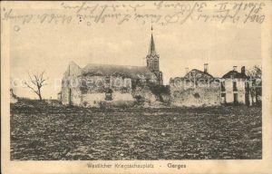 Cierges Aisne Westlicher Kriegsschauplatz 1. Weltkrieg Grande Guerre / Cierges /Arrond. de Chateau-Thierry