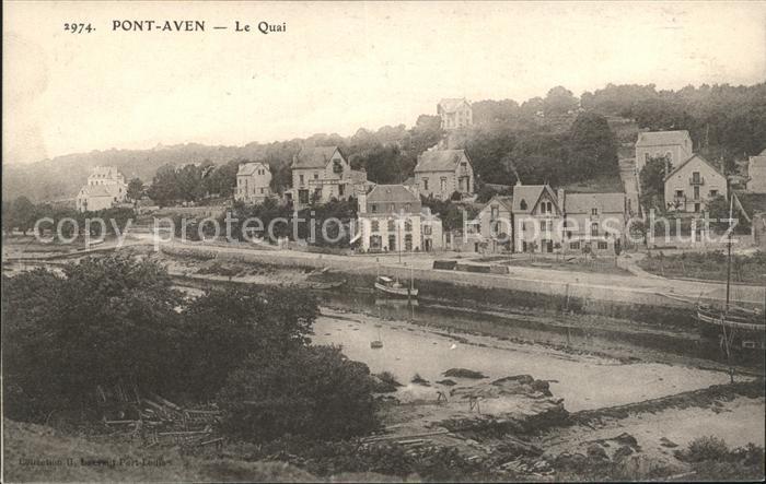 Pont Aven Le Quai Kat. Pont Aven