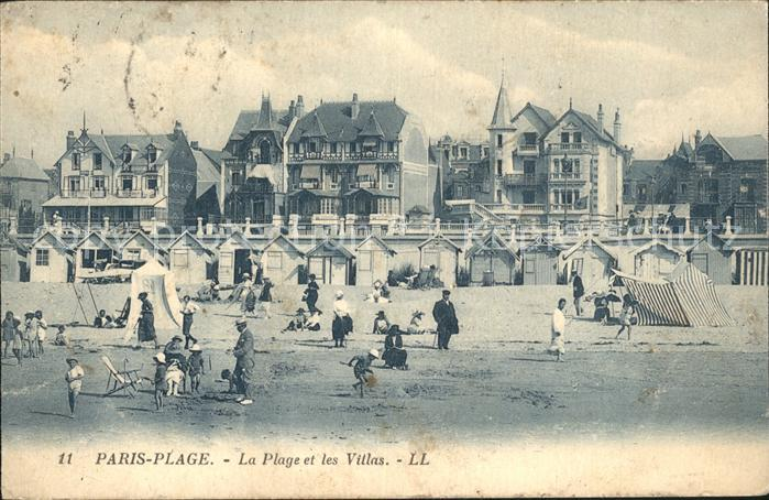 Paris Plage Plage et Villas Kat. Le Touquet Paris Plage