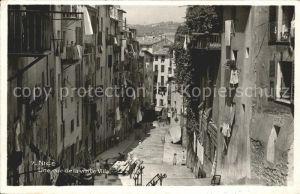 Nice Alpes Maritimes Une rue de la vieille ville Kat. Nice