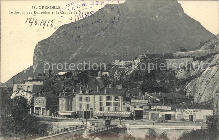 Grenoble Jardin des Dauphins Casque de Neron Kat. Grenoble