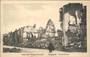 Longuyon Westlicher Kriegsschauplatz 1. Weltkrieg Grande Guerre Kat. Longuyon
