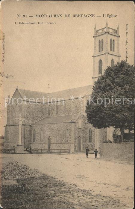 Montauban de Bretagne Eglise Kat. Montauban de Bretagne
