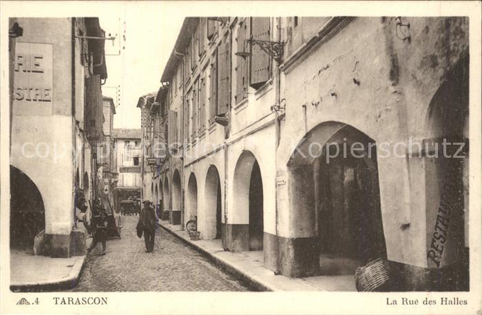 Tarascon Rue des Halles Kat. Tarascon