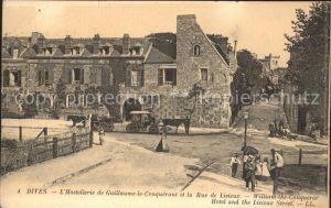 Dives sur Mer Hostellerie de Guillaume le Conquerant Rue de Lisieux Kat. Dives sur Mer