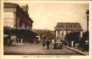 Lyon France Gare de Perrache Hotel Terminus Kat. Lyon