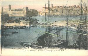 Marseille Bassin de Carenage et Vieux Port Bateaux Kat. Marseille