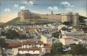Villeneuve les Avignon Vue generale et Fort Saint Andre XIV siecle Kat. Villeneuve les Avignon