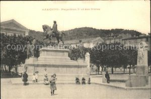 Ajaccio Napoleon I et ses freres Monument Kat. Ajaccio