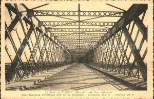 Cubzac les Ponts Le Pont vue interieure Kat. Cubzac les Ponts