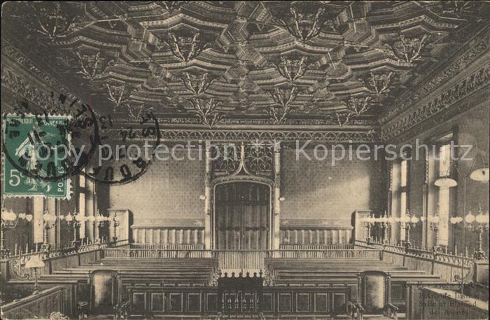 Rouen Palais de Justice Salle et Plafond des Assises Kat. Rouen