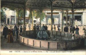 Vichy Allier Source de la Grande Grille Kat. Vichy