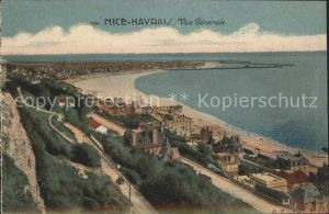 Nice Havrais Seine Maritime Vue generale Plage Cote d Azur Kat. Le Havre