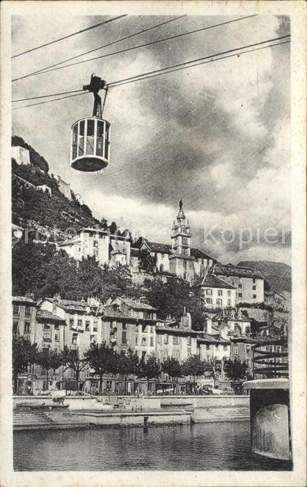 Grenoble Teleferique et Sainte Marie Kat. Grenoble